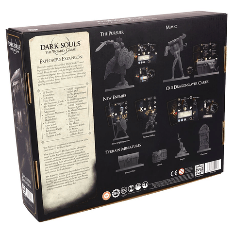 Dark Souls: The Board Game - Explorers Expansion - Preventa