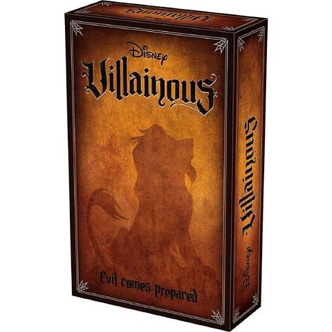 Villainous - Expansión Evil Comes Prepared - Español