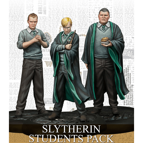 Preventa - Harry Potter Miniature Game: Estudiantes de Slytherin
