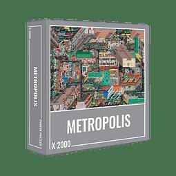 Preventa - Metropolis Jigsaw Puzzle (2000 piezas)
