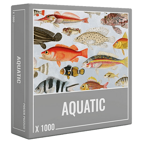 Preventa - Puzzle Aquatic 1000