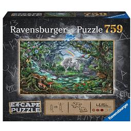 Preventa - Puzzle 759 pz - Escape the Puzzle - Unicornio