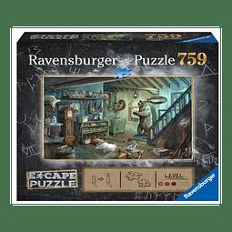 Preventa - Puzzle 759 piezas - Escape the Puzzle - En la Cámara de los Horrores