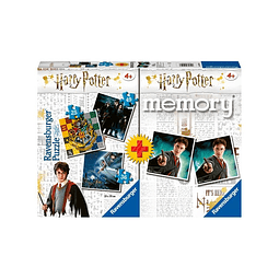 Preventa - Multipack Memory + 3 Puzzles: Harry Potter