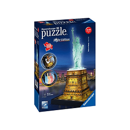 Preventa - Puzzle 3D - Serie Especial: Estatua De La Libertad- Night Edition