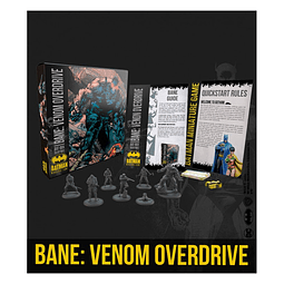 Preventa - BATMAN MINIATURE GAMES - BANE: VENOM OVERDRIVE - Ingles