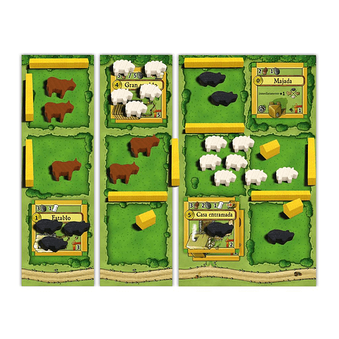 Preventa - Agricola Animales en la Granja - Español