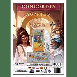 Concordia - Expansión Creta y Aegyptus - Español