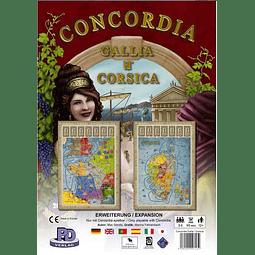 Concordia - Expansión Gallia y Corsica - Español