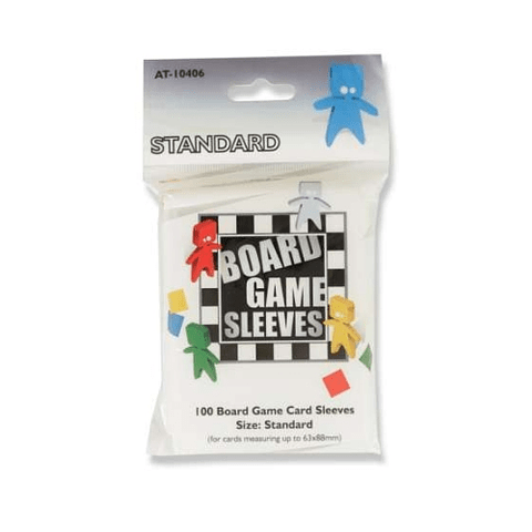 Board Game Sleeves - Protectores Standard 63x88 mm
