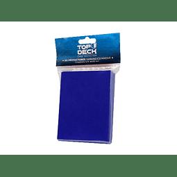 Protector cartas tamaño Standar Top Deck 62x89 - Azul