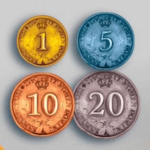 Preventa - Monedas Rococó Edición Deluxe