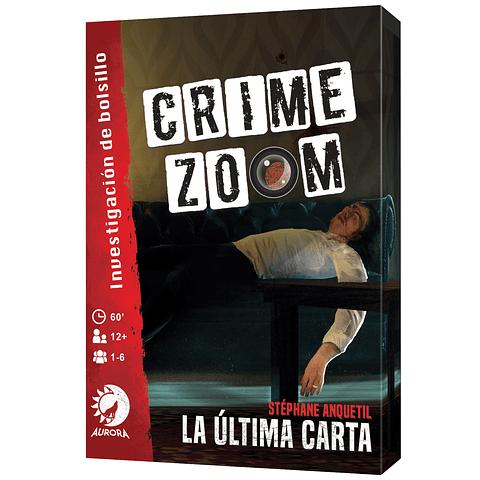 Preventa - Crime Zoom Caso 1: La Última Carta - Español