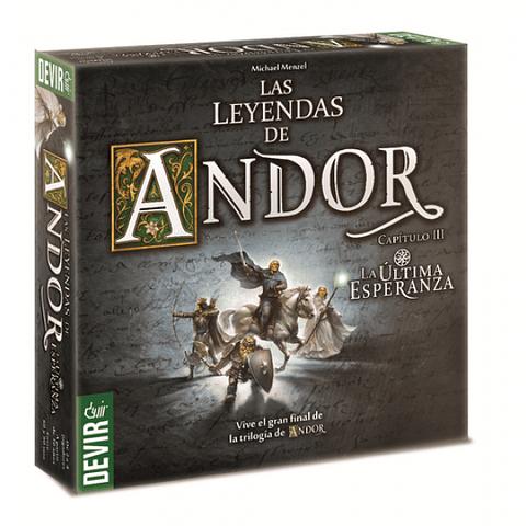 Las Leyendas de Andor - Expansión La Ultima Esperanza