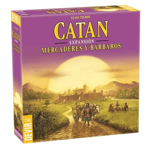 Catan - Expansión Mercaderes y Barbaros - Español