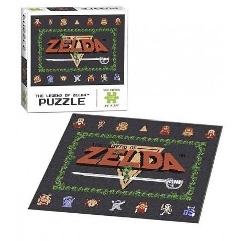 The Legend of Zelda Puzzle - Classic 550 Piezas
