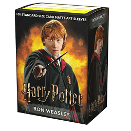 Dragon Shield - WizardingWorld - Ron Weasley - Sleeves (100)
