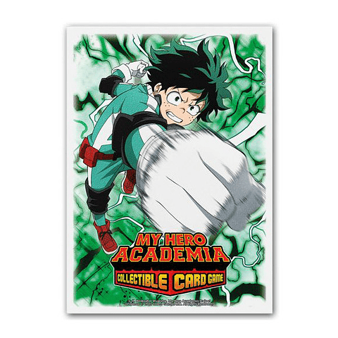 Dragon Shield - My Hero Academy Deku - Sleeves (100)