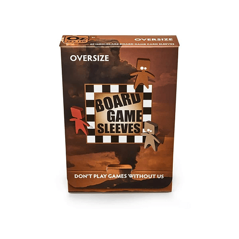 Board Game Sleeves - Protectores Oversize 79x120 mm