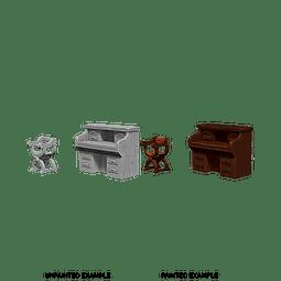 WizKids Deep Cuts: Desk & Chair