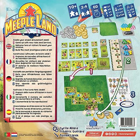 Meeple Land  - Juego de Mesa - Español