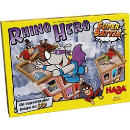 Rhino Hero Superbattle - Español