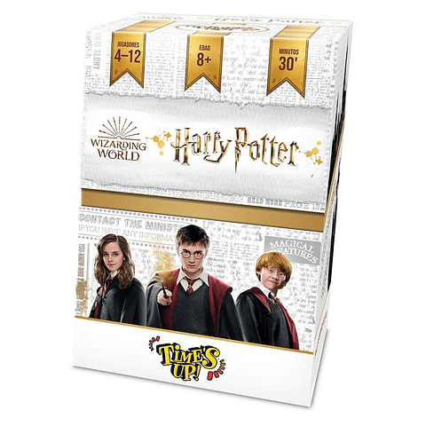 Preventa - Time's Up Harry Potter - Español