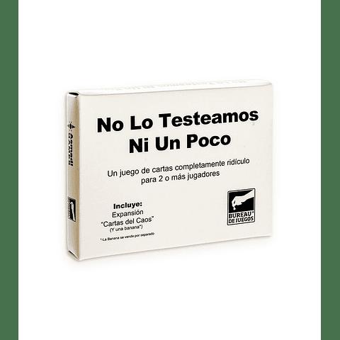 No Lo Testeamos Ni Un Poco - Español
