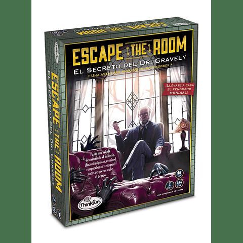 Preventa - Escape the Room - El Secreto del Dr. Gravely - Español