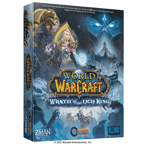 Preventa - Pandemic - World of Warcraft: Wrath of the Lich King - Español