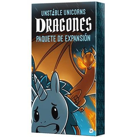 Preventa - Unstable Unicorns: Dragones - Español