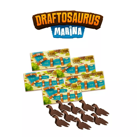 Draftosaurus - Expansión Marina - Español