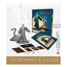 Preventa - Harry Potter Miniatures Adventure Game - Lord Voldemort & Nagini - Español