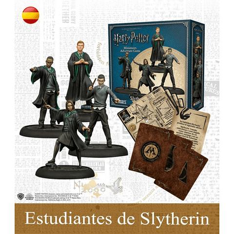 Preventa - Harry Potter Miniatures Adventure Game - Estudiantes De Slytherin - Español