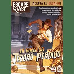 Preventa - Escape Quest: En busca del tesoro perdido - Español