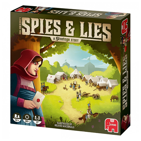 Preventa - Spies & Lies - A Estratego Story - Español