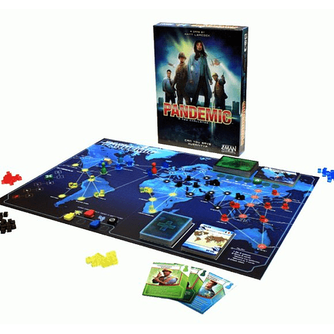 Pandemic - Juego de Mesa - Español
