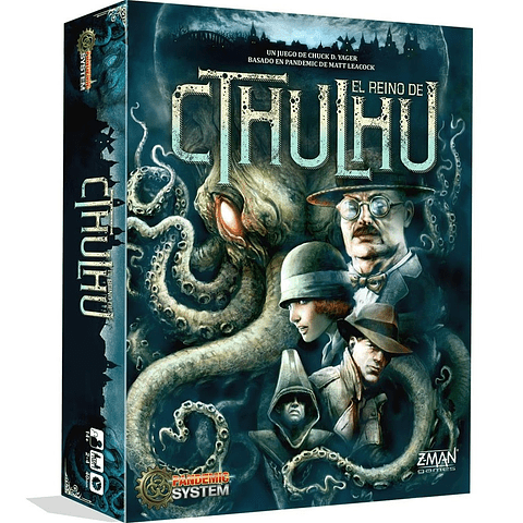 Pandemic El Reino de Cthulhu - Español