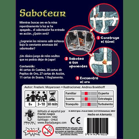 Saboteur - Juego de Cartas - (Español)