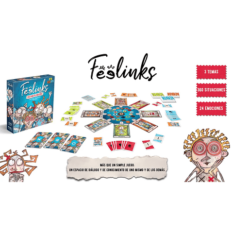 Feelinks - Del Creador de Dixit - Español