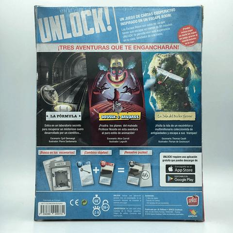 Unlock! Escape Adventures - Juego de Mesa - Español