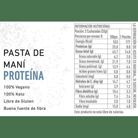 Pasta de Maní con Proteína