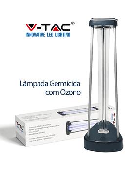 Suporte vertical com lâmpada UVC germicida desinfeção 36W V-TAC
