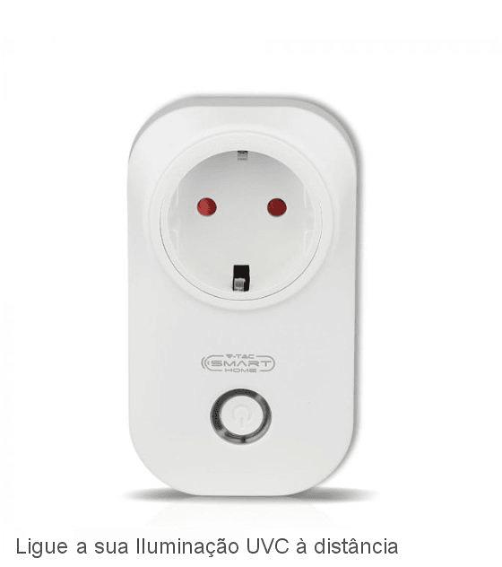 Tomada Wifi Controlada por App Smart Home V-TAC