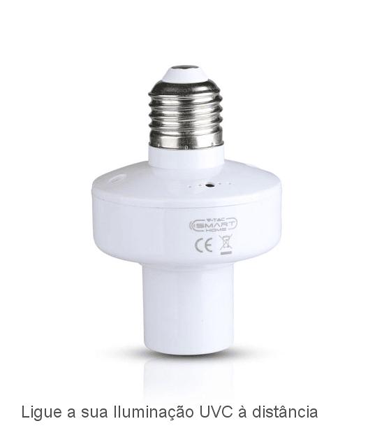 Suporte E27 Wifi Controlado por App Smart Home V-TAC