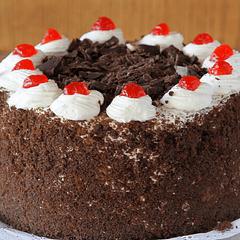 Torta Selva Negra Sin Azúcar