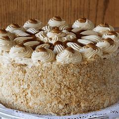 Torta de Mil Hojas Sin Azúcar