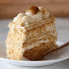 Pastel Mil Hojas Sin Azúcar