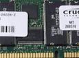 Memoria Ram 1gb PC2-1600R 200Mhz CL2 2.5Volts ECC Registered 184 pin Server memory Micron