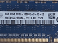 Memoria Ram 8gb / PC3L  - 10600E DDR3 - 1333Mhz / Ecc Unbuffered / HP Server G6 G7 / 647658-081 / 647909-B21